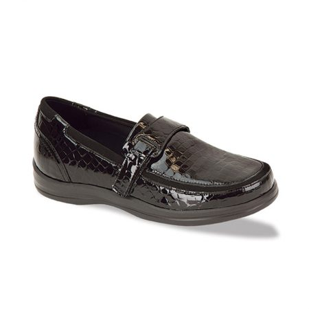 PETALS EVELYN BLACK CROC