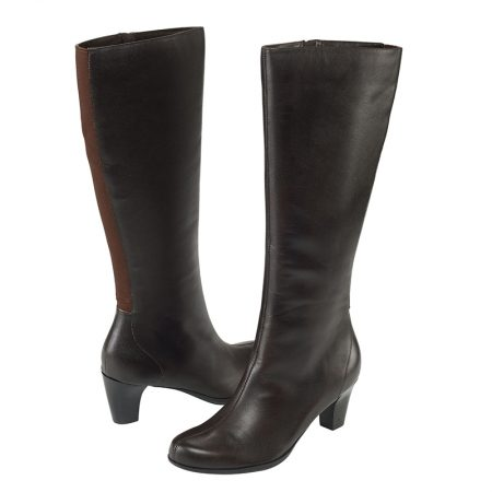 ALEXIS TALL BOOT BROWN
