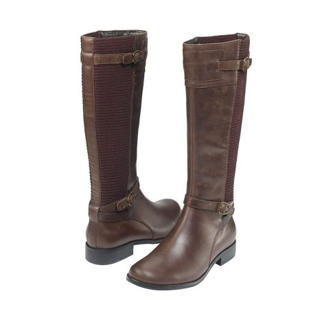 CHELSEA RIDING BOOT BROWN