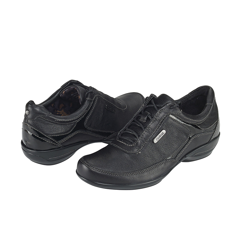 HOLLY LACE-UP OXFORD BLACK