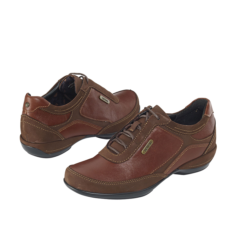HOLLY LACE-UP OXFORD BROWN