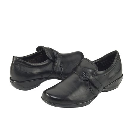 KELLY STRAP SLIP-ON BLACK