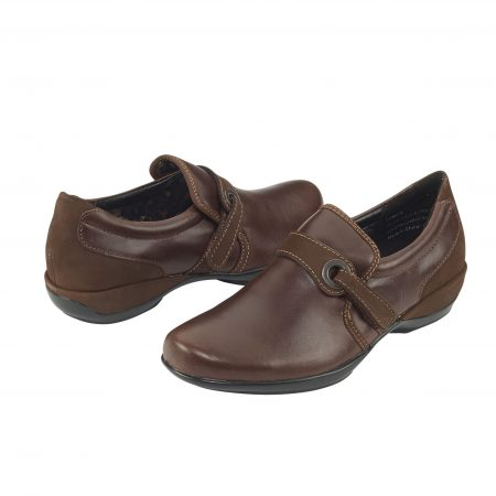 KELLY STRAP SLIP-ON BROWN