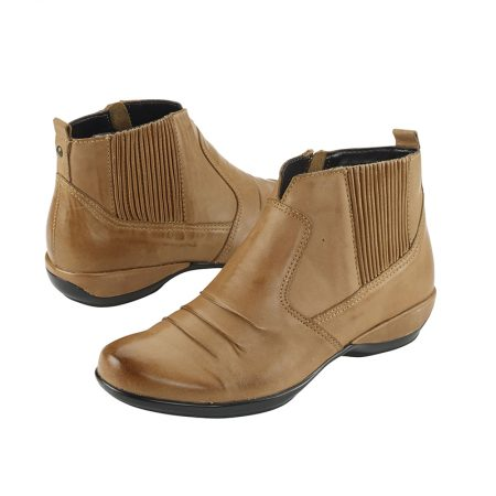 KAILEY ANKLE BOOT COGNAC