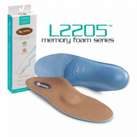 L2205W дамски стелки с мемори пяна