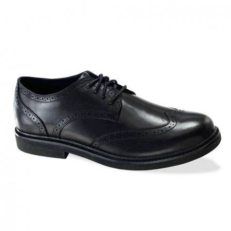Apex Lexington Wingtip Oxford Black LT700M