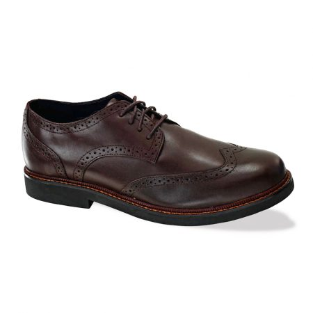 Apex Lexington Wingtip Oxford Brown LT710M