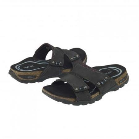 Aetrex Ventura Double Strap Sandal Black Мъжки сандали MC10M