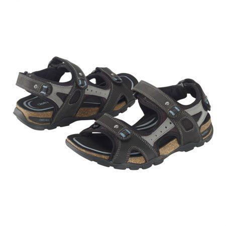 Aetrex Largo Sandal Black