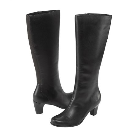ALEXIS TALL BOOT BLACK