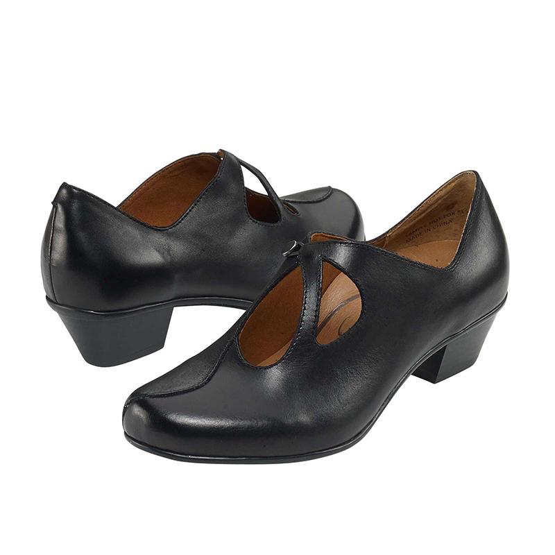LEANNE SLIP-ON BLACK