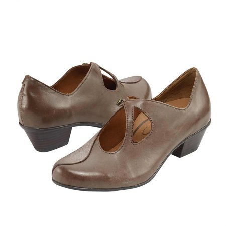 LEANNE SLIP-ON BROWN MIX