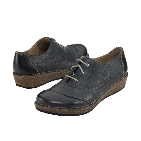 KERRY LACE-UP OXFORD BLACK