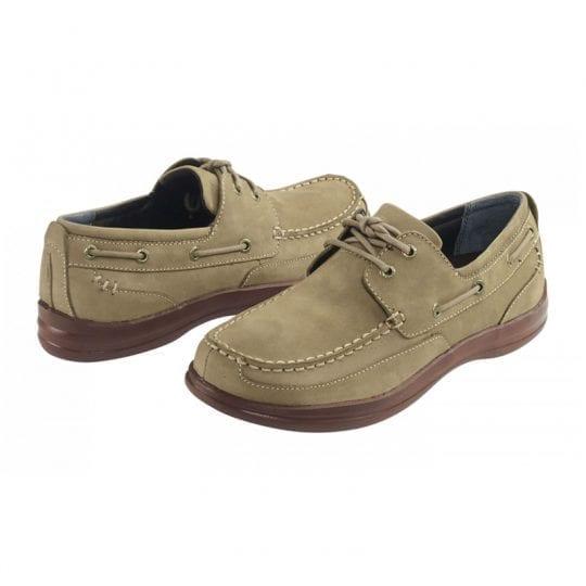 Aetrex Justin Boat Shoe Tan