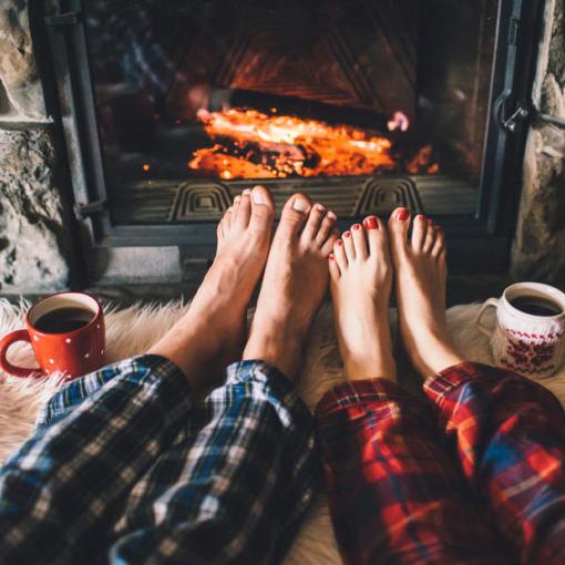 краката през зимата