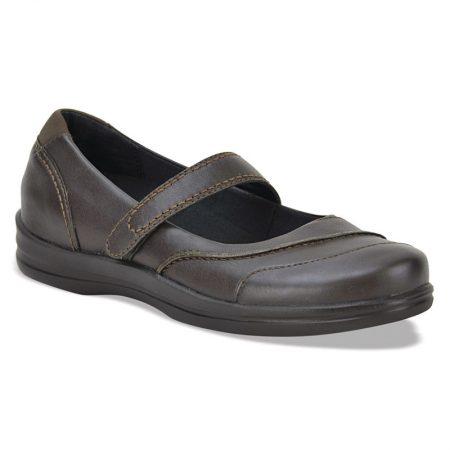 Petals Lisa Dark Brown дамски терапевтични обувки