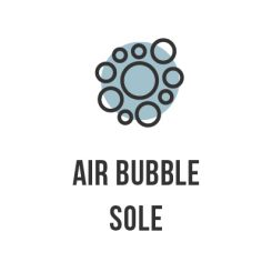 Air bubble sole