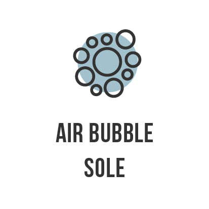 DB air bubble sole