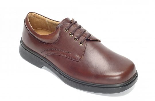 SHANNON-Brown leather-87035b_3q