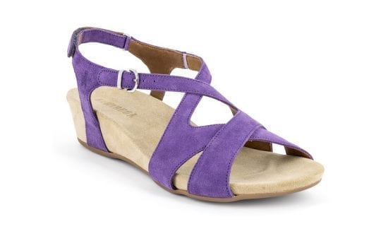 Дамски сандали Vittoria violett, Benvado