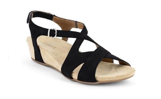 Дамски сандали Vittoria nero, Benvado