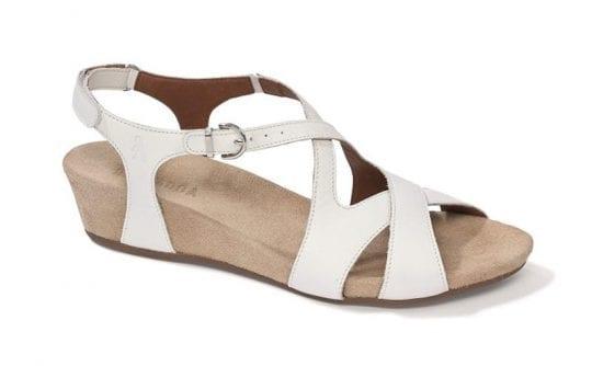 Дамски сандали Vittoria bianco, Benvado