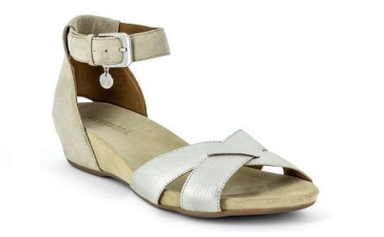 Дамски сандали Emma plat./sabbia, Benvado