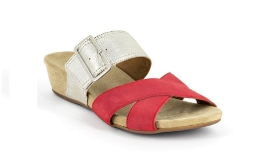 Дамски сандали Lucia fuoco/plat., Benvado