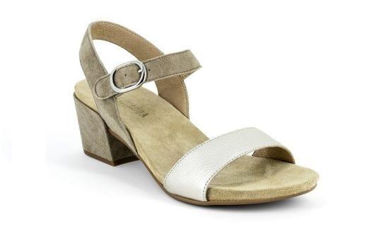 Дамски сандали Perla plat./sabbia, Benvado