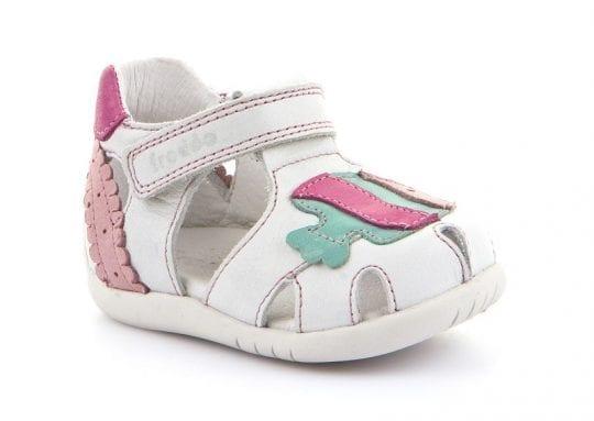 детски сандали бели Froddo