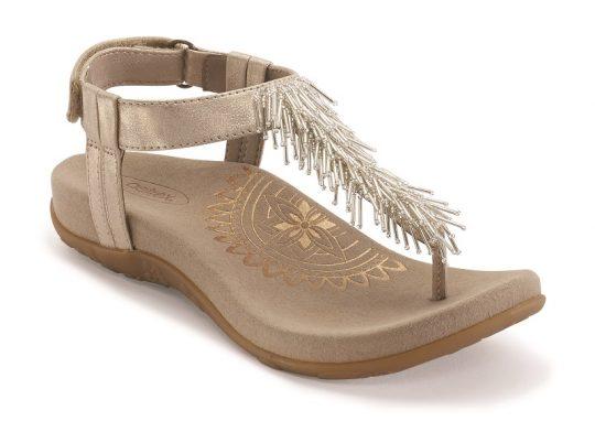 Дамски сандали PORTIA Champagne