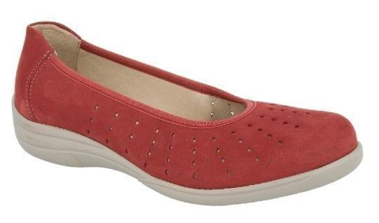Дамски обувки OBAN EV Red nubuck