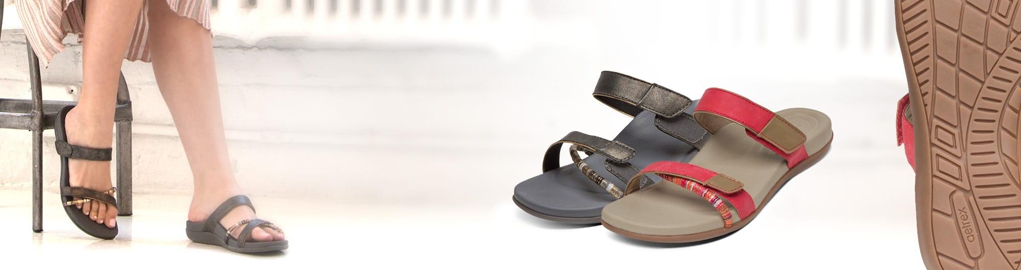 Дамски сандали актив на Aetrex