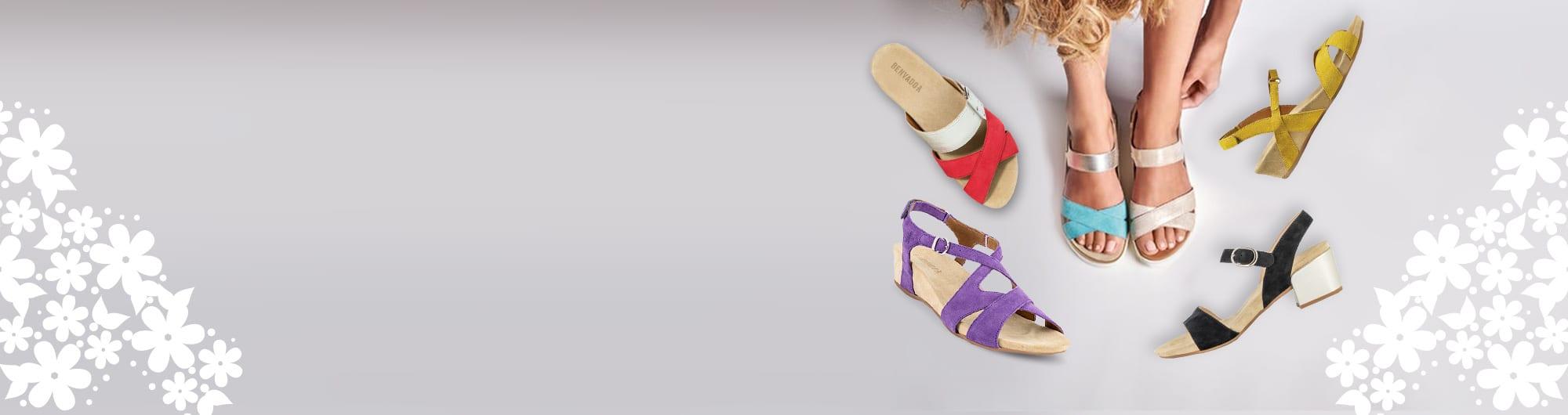Дамски сандали Benvado