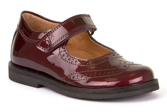 Детски лачени обувки за момиче Фродо