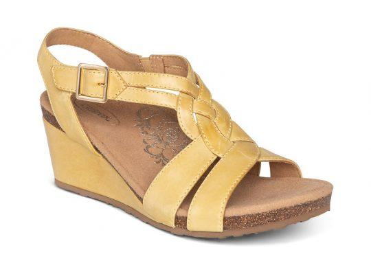 Дамски сандали на платформа Aetrex