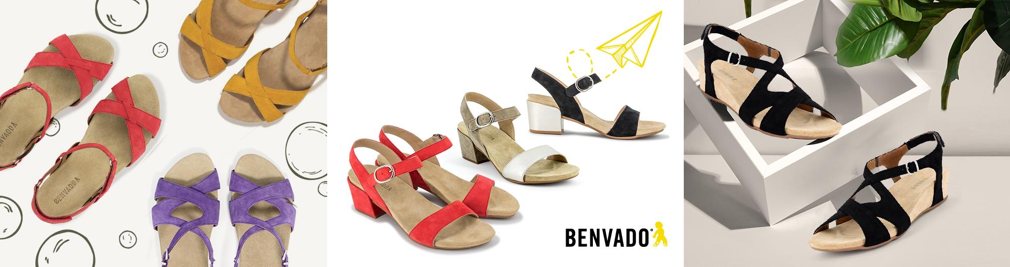 Дамски сандали Бенвадо - ортопедични сандали