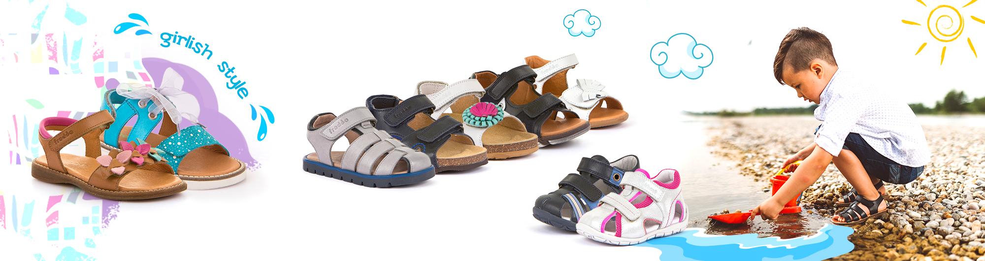 Детски и юношески сандали Froddo