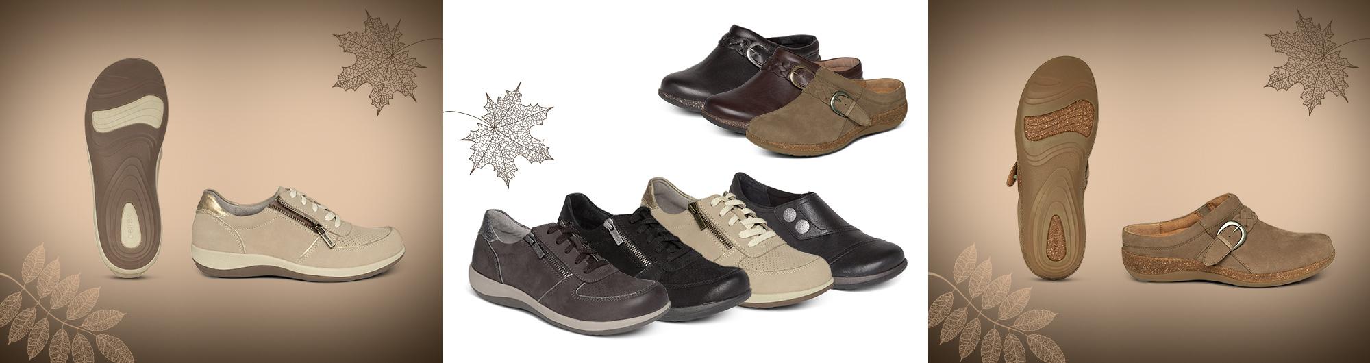 Дамски обувки Aetrex есен 2020