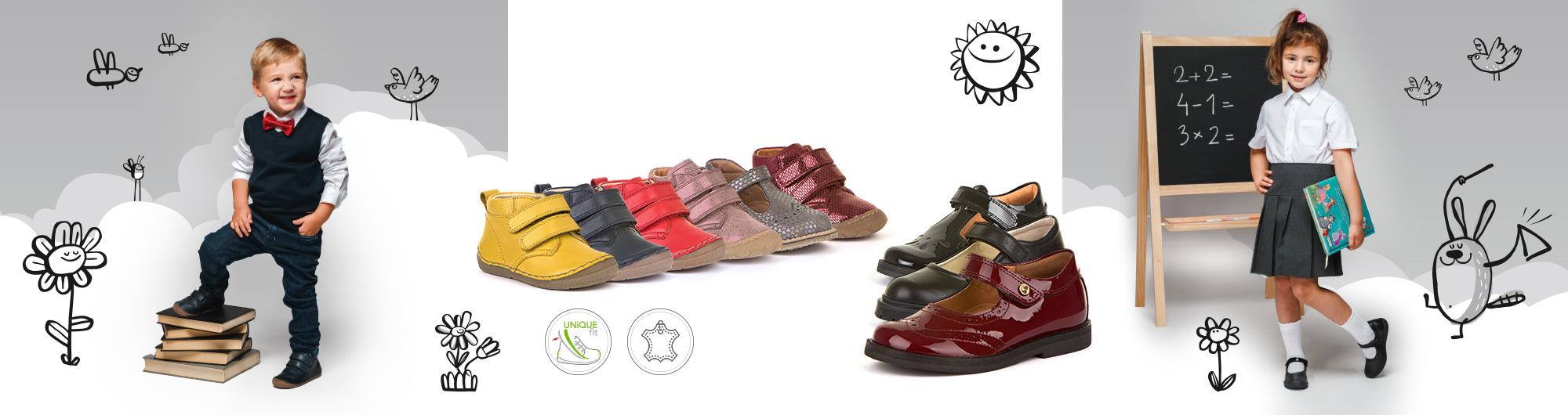 Детски и юношески обувки Froddo есен 2020