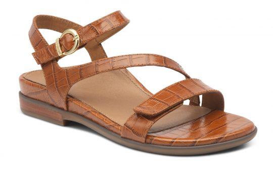 Дамски сандали Tia Cognac