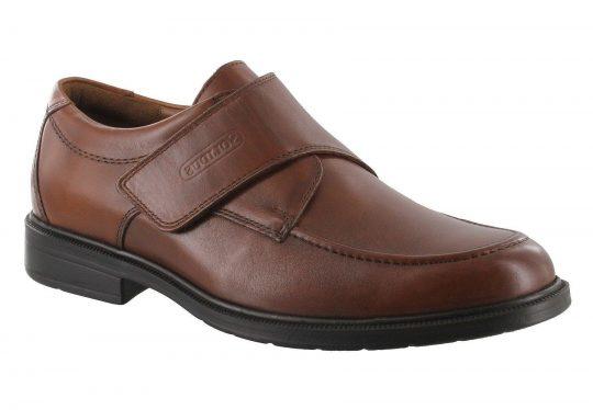 Елегантни мъжки обувки с велкро