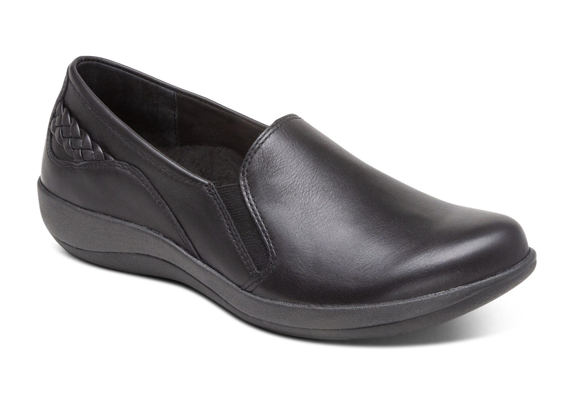 Дамски обувки Trisha Slip on Black DM520